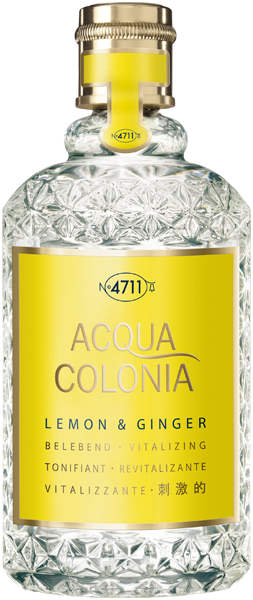4711 Acqua Colonia Lemon & Ginger Eau de Cologne Splash & Spray
