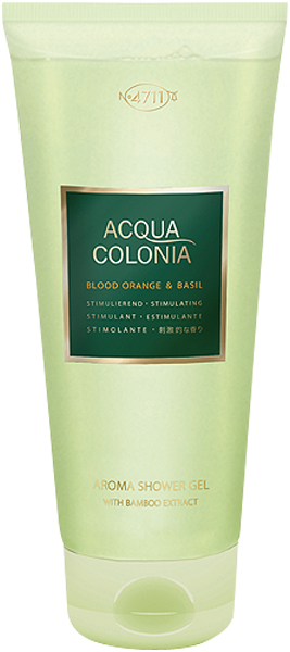 4711 Acqua Colonia Blood Orange & Basil Aroma Shower Gel with Bamboo Extract