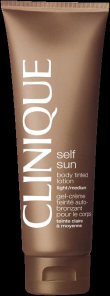 Clinique Self Sun Body Tinted Lotion Light-Medium