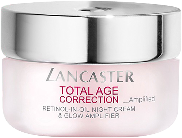 Lancaster Total Age Correction Retinol-in-Oil Night Cream & Glow Amplifier
