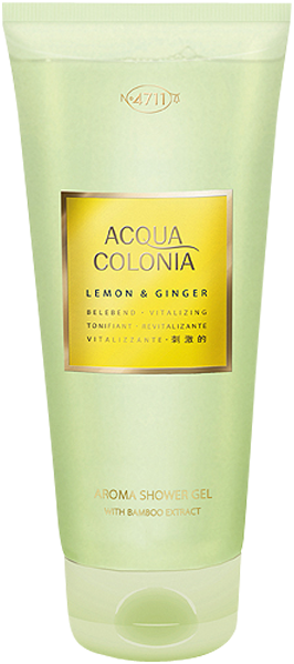 4711 Acqua Colonia Lemon & Ginger Aroma Shower Gel with Bamboo Extract