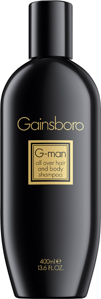 Gainsboro G-Man Hair & Body Shampoo