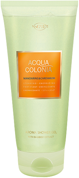 4711 Acqua Colonia Mandarine & Cardamom Aroma Shower Gel with Bamboo Extract
