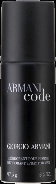 Giorgio Armani Code Pour Homme Deodorant Nat. Spray