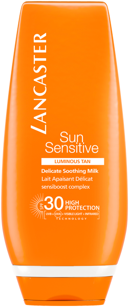 Lancaster Sun Sensitive Delicate Soothing Milk