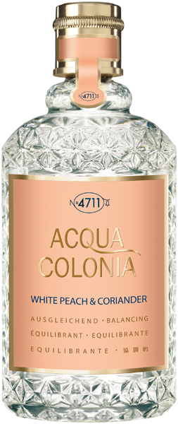 4711 Acqua Colonia White Peach & Coriander Eau de Cologne Splash & Spray