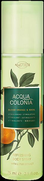 4711 Acqua Colonia Blood Orange & Basil Refreshing Body Spray