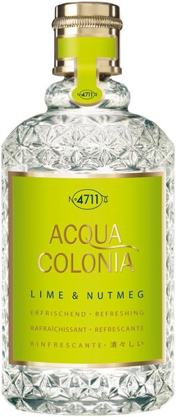 4711 Acqua Colonia Lime & Nutmeg Eau de Cologne Nat. Splash & Spray