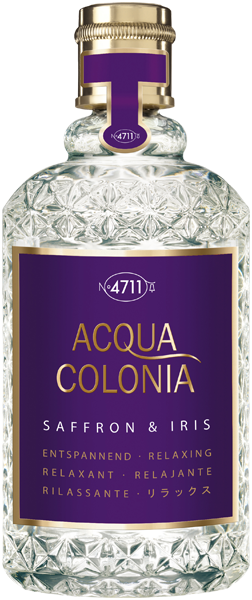 4711 Acqua Colonia Saffron & Iris Eau de Cologne Nat. Spray