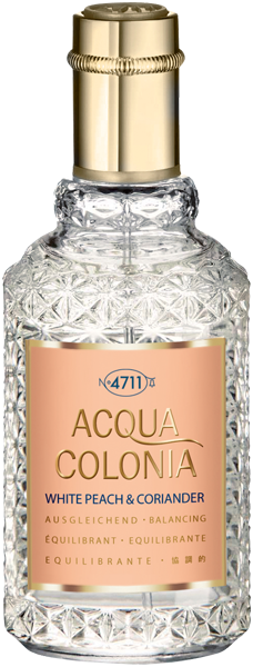4711 Acqua Colonia White Peach & Coriander Eau de Cologne Nat. Spray