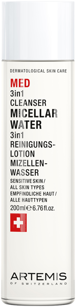 Artemis Med 3 in 1 Cleanser Micellar Water