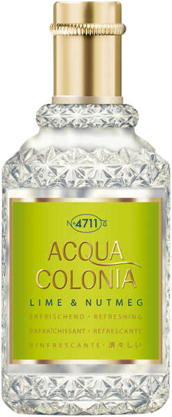 4711 Acqua Colonia Lime & Nutmeg Eau de Cologne Nat. Spray