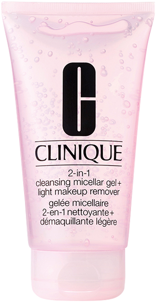 Clinique 2-in-1 Cleansing Micellar Gel + Light Makeup Remover