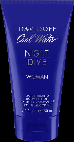 Davidoff Cool Water Night Dive Woman Body Lotion