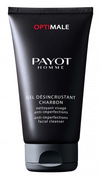 Payot Homme Optimale Désincrustant Charbon