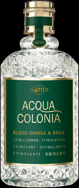 4711 Acqua Colonia Blood Orange & Basil Eau de Cologne Splash & Spray