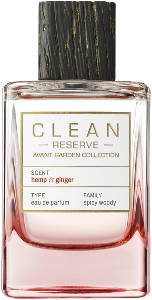 Clean Reserve Avant Garden Collection Hemp & Ginger Eau de Parfum Nat. Spray